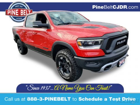 New 2020 Ram 1500 Rebel 4WD 4D Crew Cab