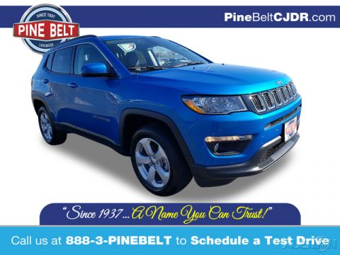 New 2020 Jeep Compass Latitude 4WD 4D Sport Utility
